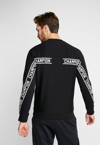 Champion - CREWNECK  - Sweatshirt - black - 2