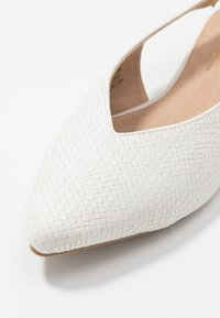 Head over Heels by Dune - HATTY - Slingback ballet pumps - white - 2