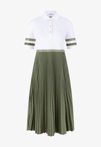 Bogner - Maxi dress - creme/oliv-grün - 0