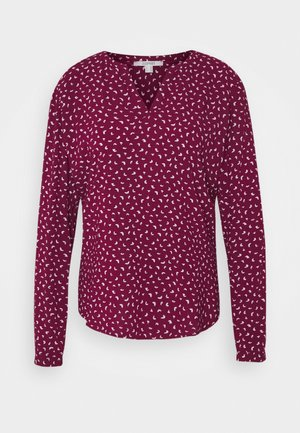 BLOUSE - Blouse - bordeaux red