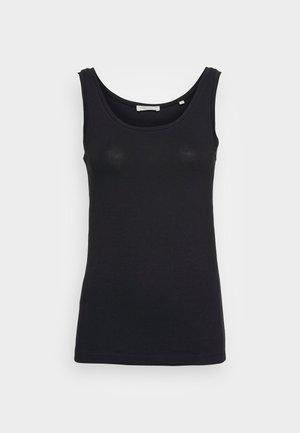 ROUND NECK - Top - black