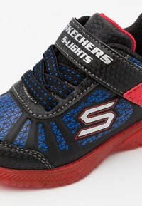 Skechers - Trainers - black/red/blue