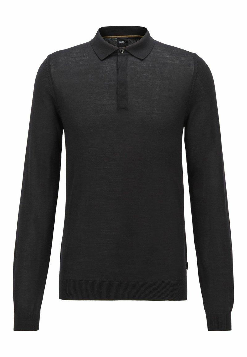 BOSS - DIBARI - Polo shirt - black