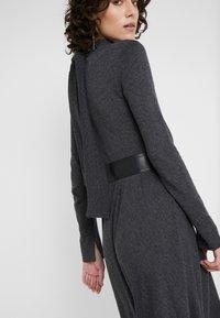 MAX&Co. - DRENARE - Robe pull - dark grey - 3