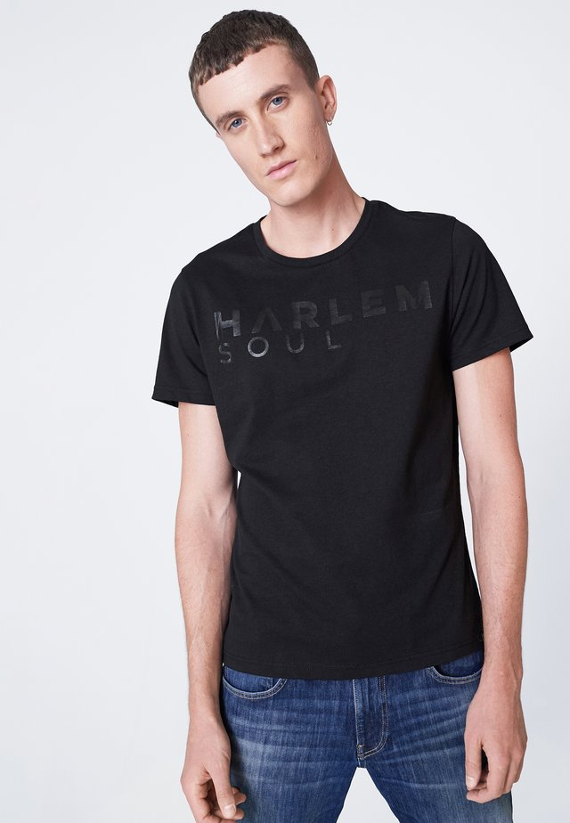 MEL-BOURNE - Print T-shirt - black