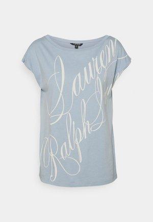 UPTOWN - T-shirt z nadrukiem - dust blue