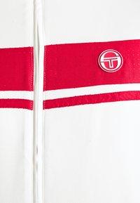 Sergio Tacchini - TRACKTOP YOUNGLINE - Sportovní bunda - blanc de blanc/tango red - 5