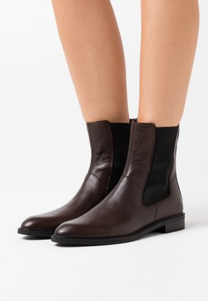 FRANCES - Classic ankle boots - brown