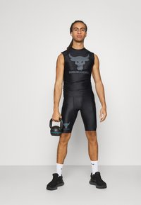 Under Armour - ROCK ISOCHILL - Top - black - 1