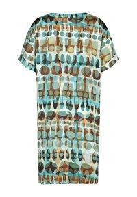 Samoon - Day dress - cameo blue gemustert - 5