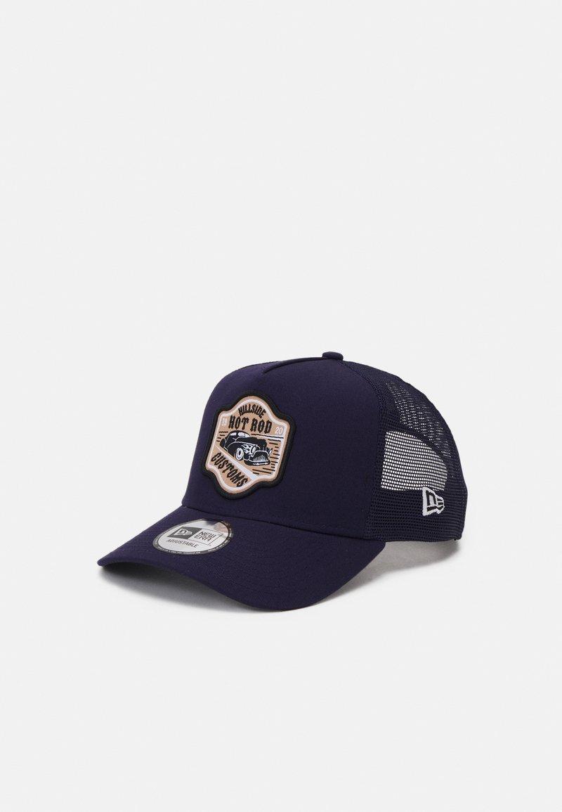 New Era - HOT ROD TRUCKER UNISEX - Cap - dark blue