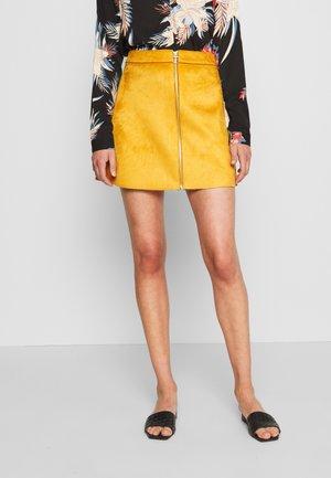 ONLEA BONDED SKIRT - A-line skirt - pumpkin spice