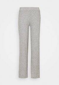 Gina Tricot - KINSLEY TROUSERS - Trousers - grey melange - 0