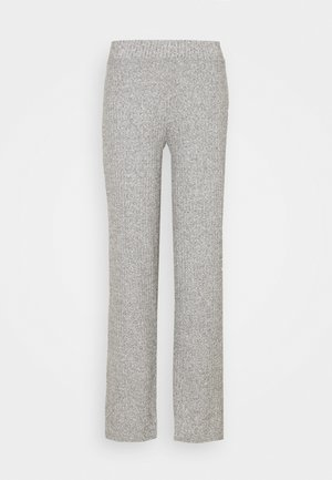 KINSLEY TROUSERS - Trousers - grey melange