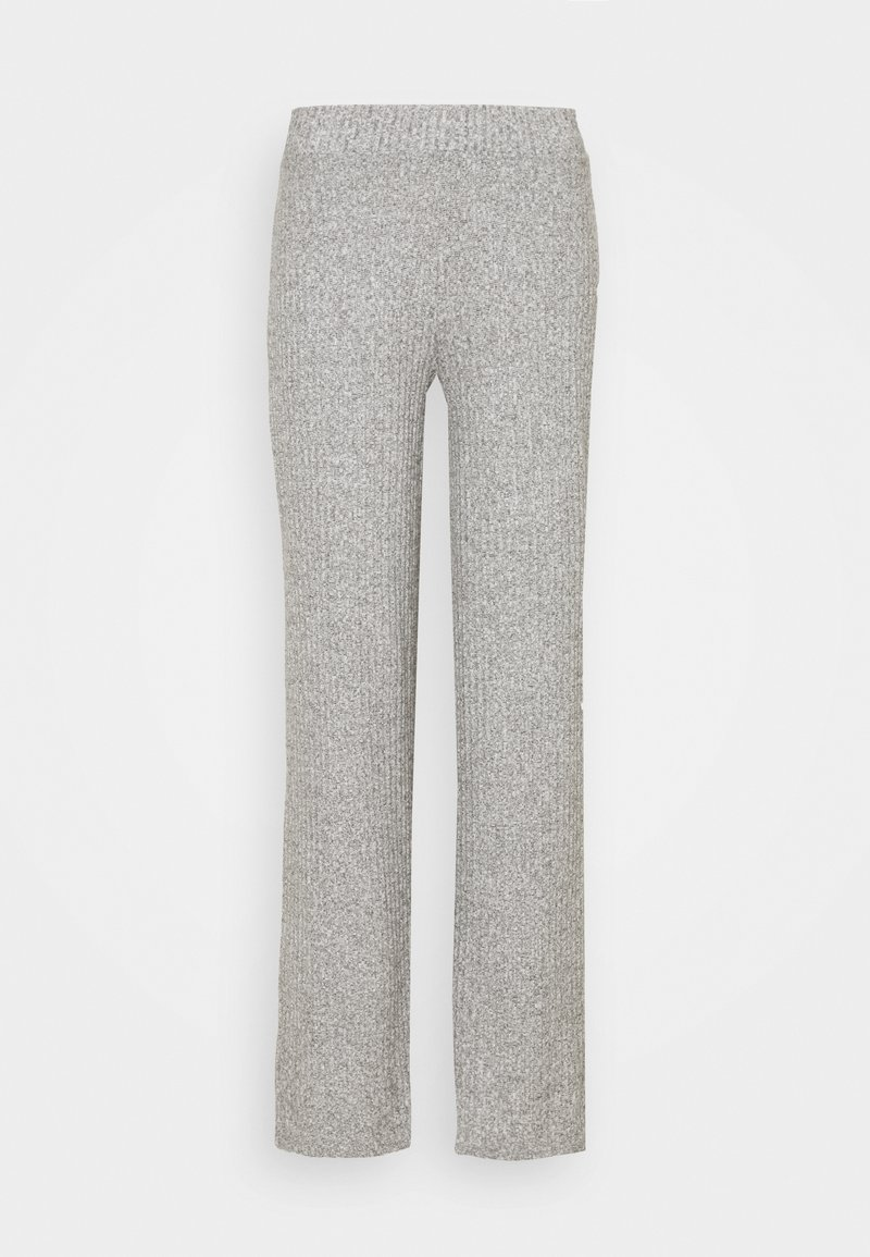 Gina Tricot - KINSLEY TROUSERS - Trousers - grey melange