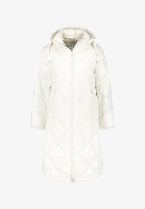 MIT RAUTENSTEPP - Winter coat - sahne