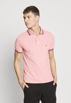TIPPED SLIM FIT - Polo - pink