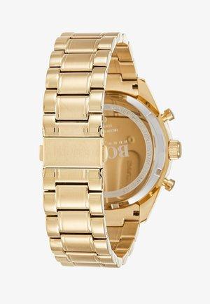 TROPHY - Zegarek chronograficzny - weiß/gold