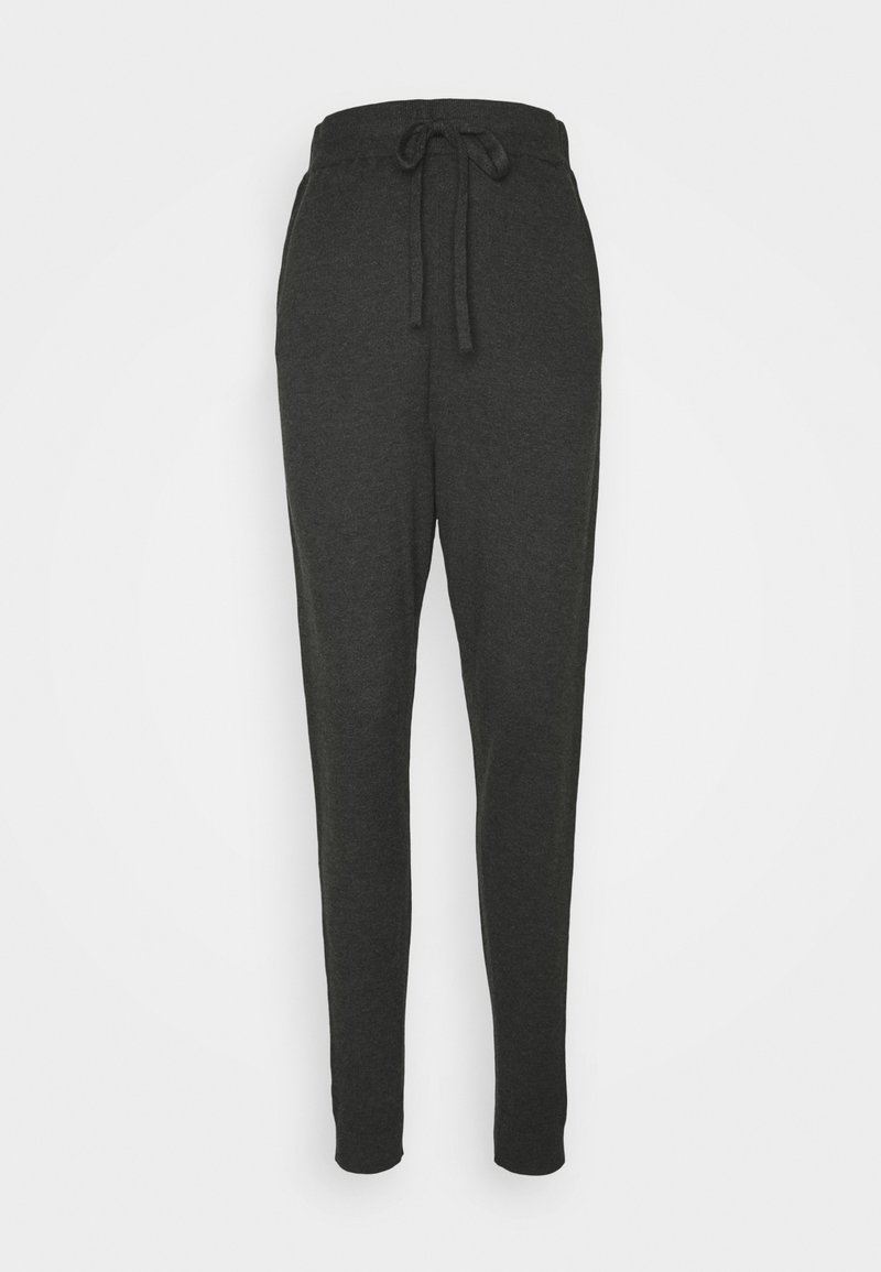 ICHI - IHKAVA  - Tracksuit bottoms - dark grey melange