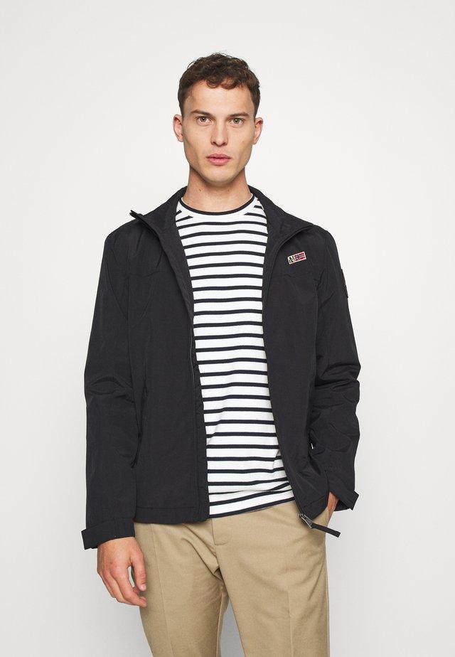 SHELTER - Summer jacket - black