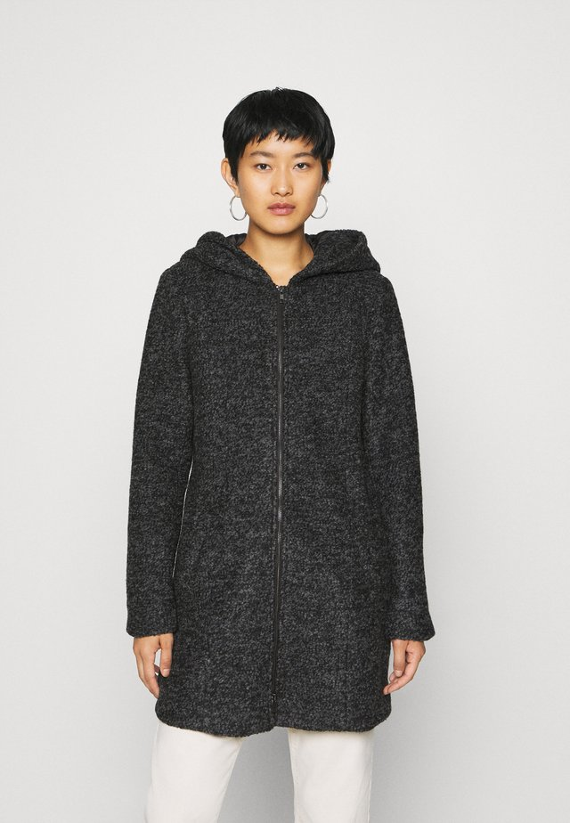 KADAKO COAT - Classic coat - dark grey melange