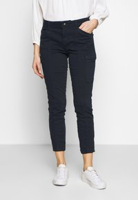 s.Oliver - Trousers - navy - 0