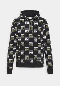Puma - PUMA X HELLY HANSEN HOODIE - Hoodie - black - 0