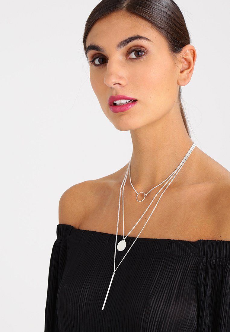sweet deluxe - TREVA - Necklace - silver-coloured
