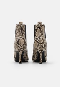 4th & Reckless - EMELIE - High heeled ankle boots - beige - 3