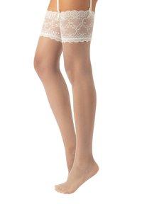 Calzitaly - BRIDAL  - Over-the-knee socks - ivory - 2