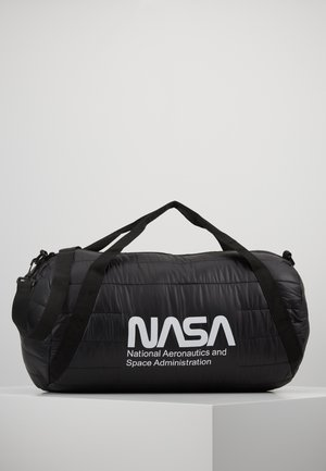 NASA PUFFER DUFFLE BAG - Holdall - black