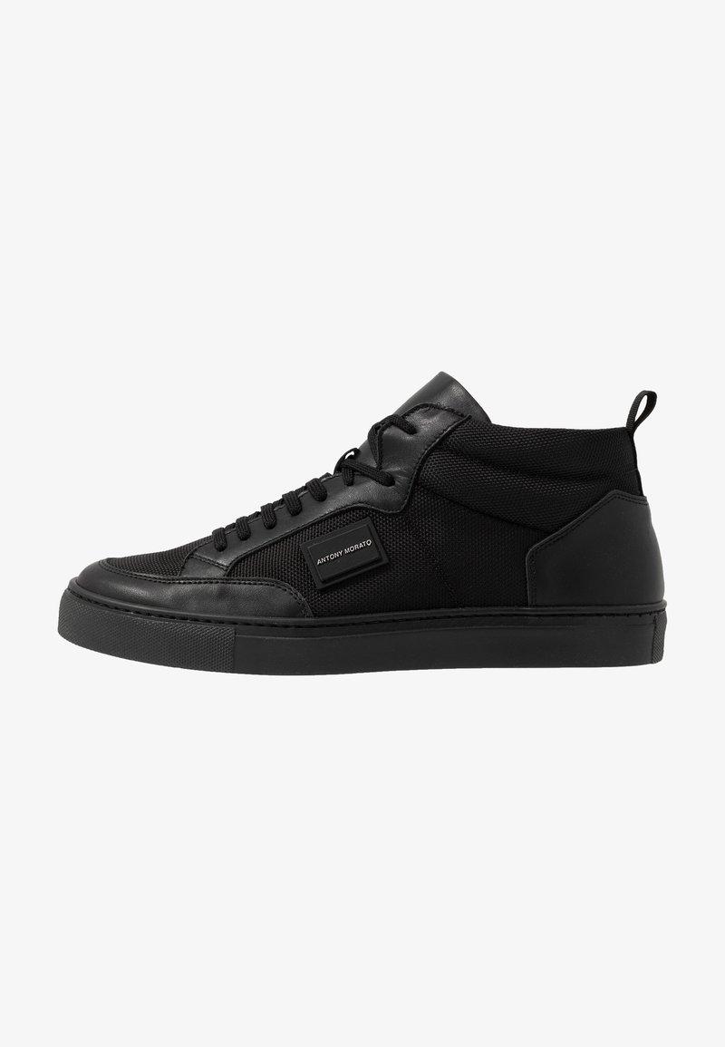 Antony Morato - MID METAL - Sneakers hoog - black