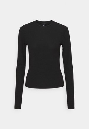 MINNIE - Long sleeved top - black