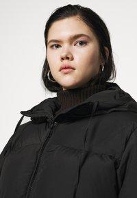 Weekday - RUT PUFFER JACKET - Winter coat - black - 3