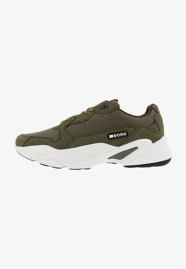 X400 - Sneakers laag - olive