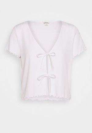 NILLAN - Print T-shirt - white