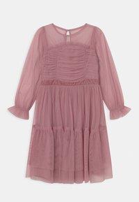 Anaya with love - LONG SLEEVE RUFFLE DRESS - Cocktail dress / Party dress - aurora pink - 0