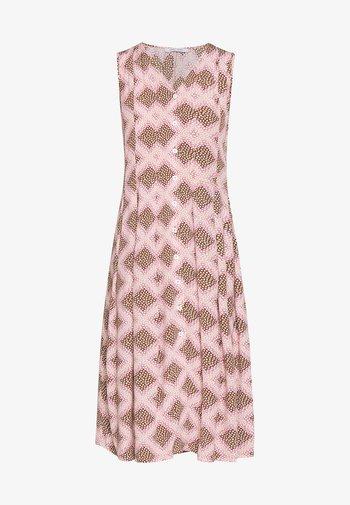 CINDA DRESS - Skjortekjole - foulard