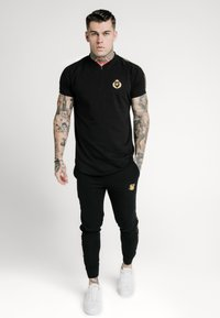 SIKSILK - BASEBALL - Print T-shirt - black - 0