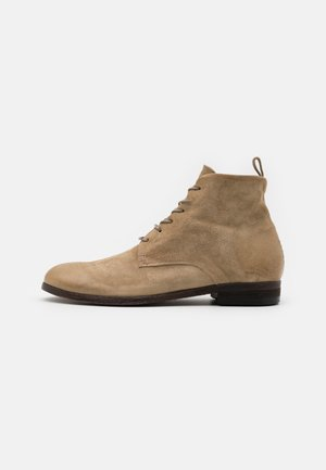 GENERATION - Lace-up ankle boots - beige