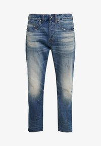 5650 3D RELAXED TAPERED - Relaxed fit jeans - kir denim o 2.0 antic faded lagoon