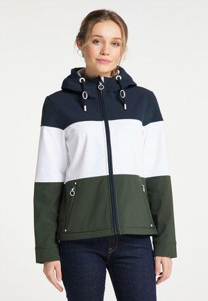 Outdoor jacket - nachtblau dunkeloliv