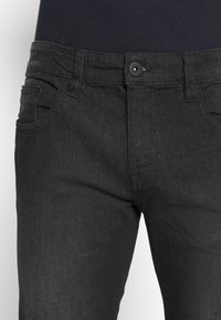 INDICODE JEANS - PITTSBURG - Jeansy Slim Fit - ultra black - 5