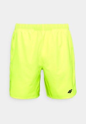Men's training shorts - Short de sport - neon yellow