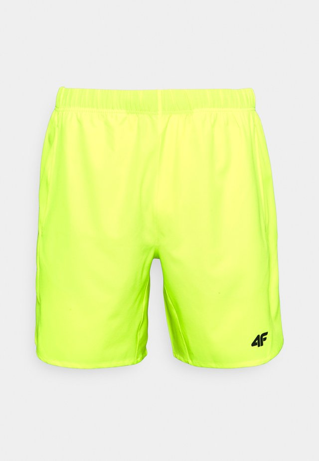 Men's training shorts - Sports shorts - neon yellow