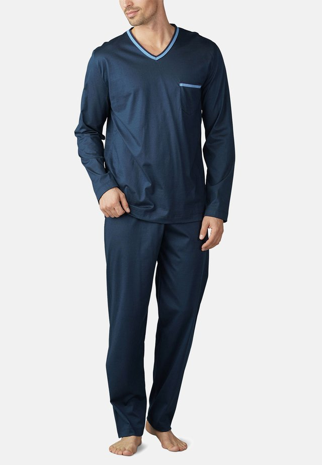 SET - Pyjama set - yacht blue
