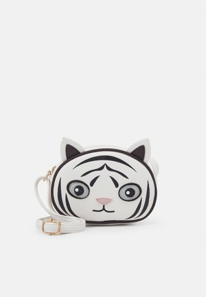 TIGER BAG UNISEX - Across body bag - white star