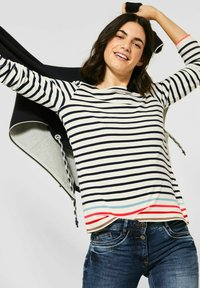 Cecil - Long sleeved top - weiß - 1