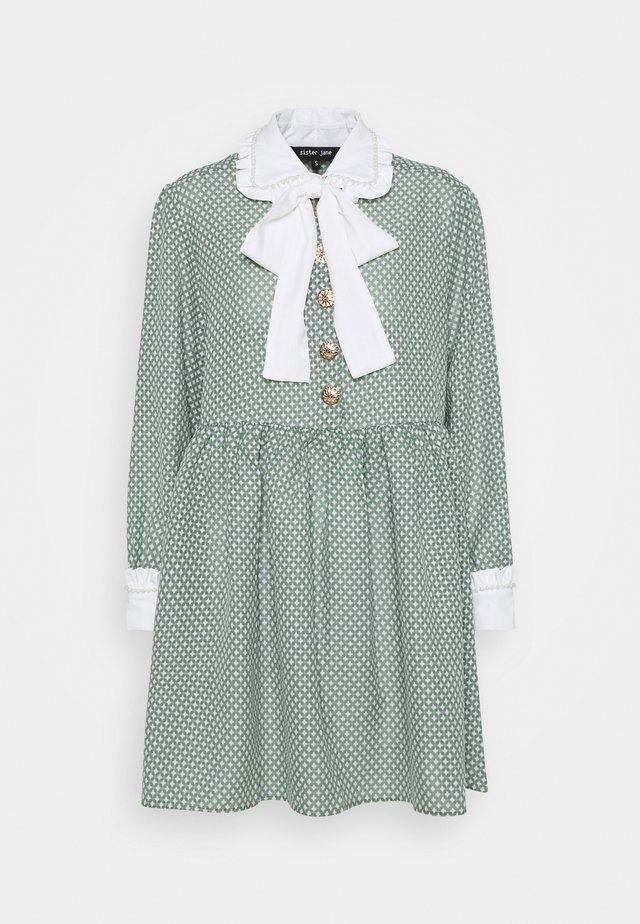 GOLDEN TICKET  - Korte jurk - green