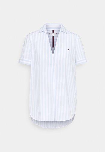 Print T-shirt - breezy blue